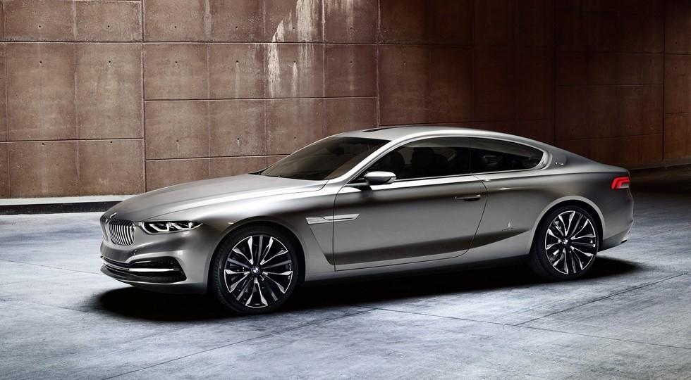 На фото: концепт BMW Gran Lusso Coupe, представленный в 2013 году