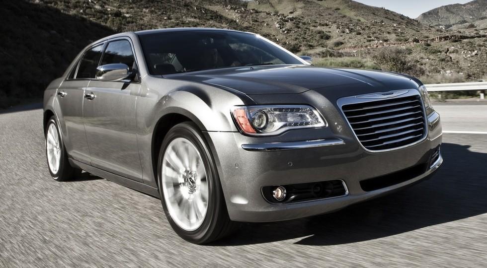 На фото: Chrysler 300C