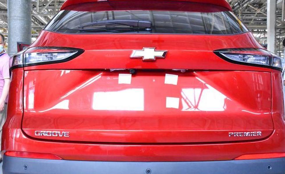 Новый компактный кроссовер Chevrolet: это Groove, и его сделали из «китайца»