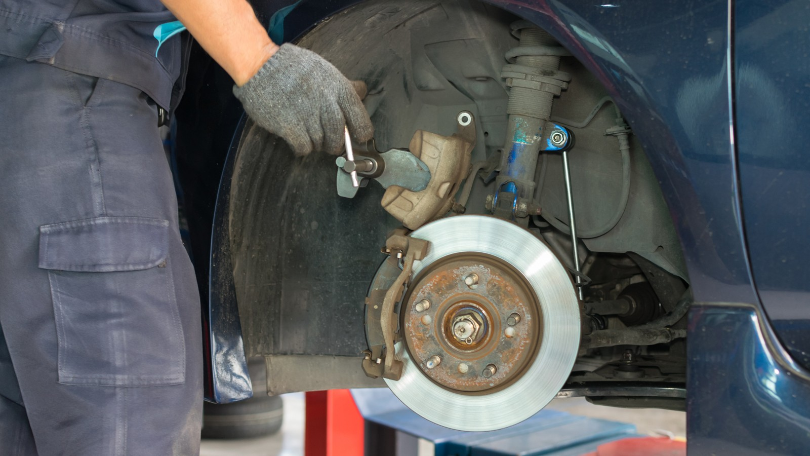 Checking car brake system