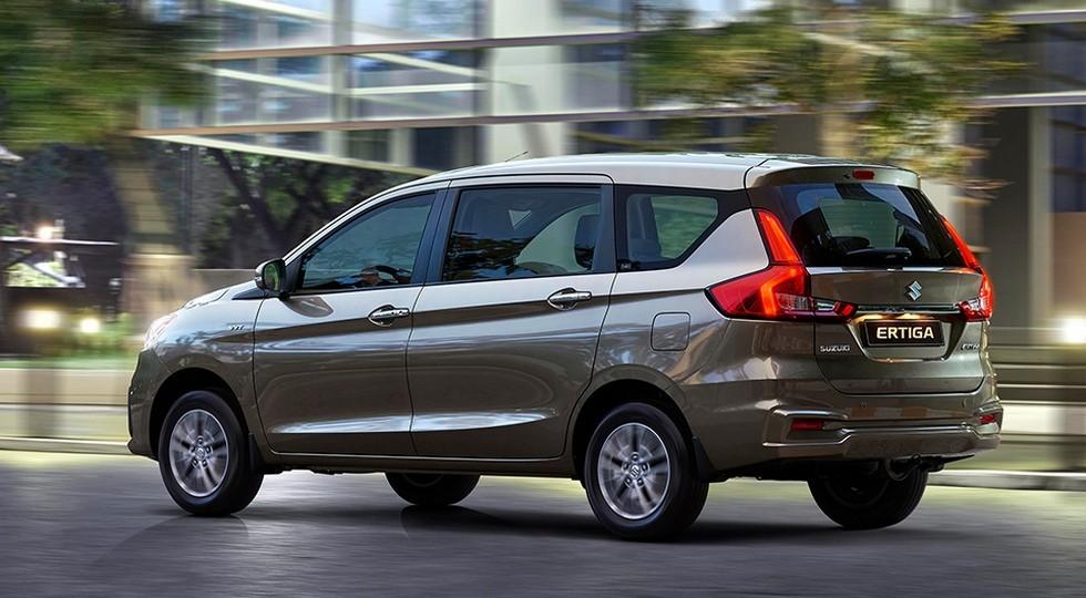 Стандартная Suzuki Ertiga нового поколения