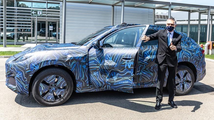 «Младший брат» Maserati Levante: кроссовер Grecale показался на новых фото