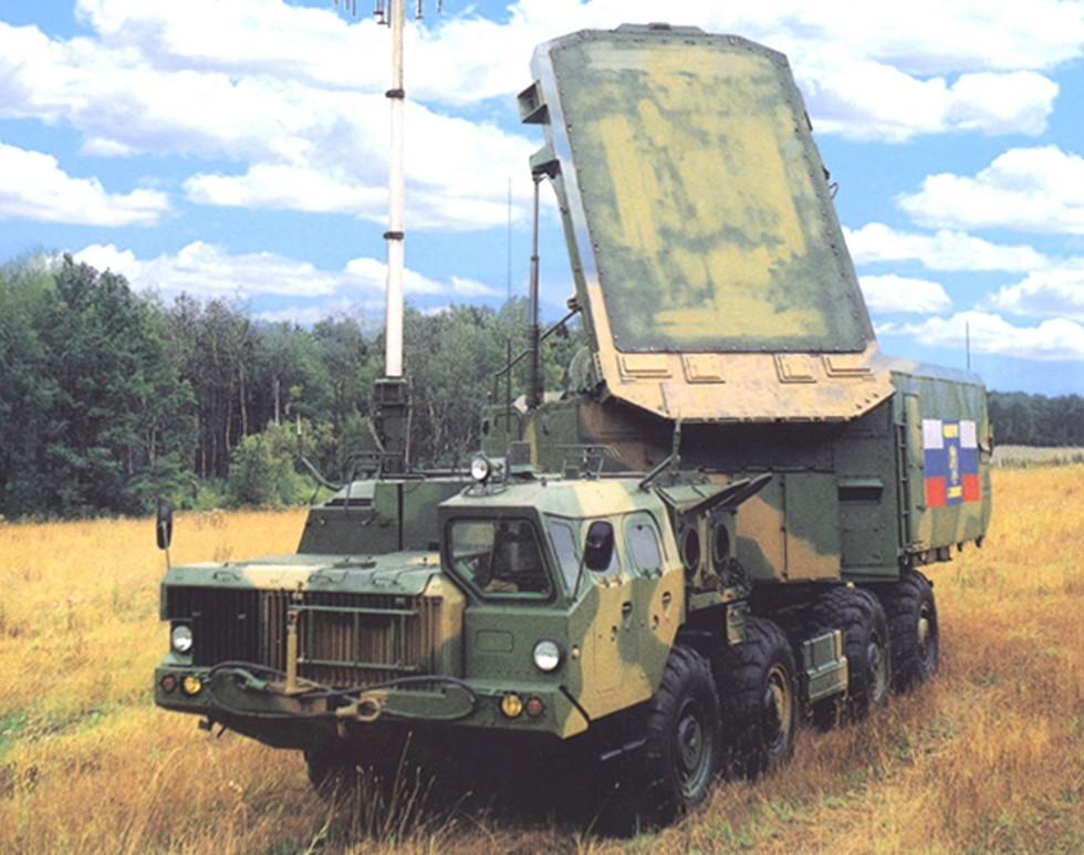 Многофункциональный радиолокатор 30Н6Е2 зенитного комплекса С-300ПМУ-2