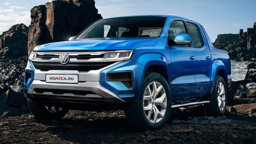 Volkswagen Amarok нового поколения может получить «заряженную» версию