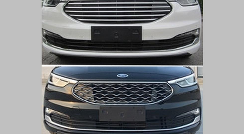 Сверху — стандартный обновленный Ford Taurus, снизу — версия Vignale