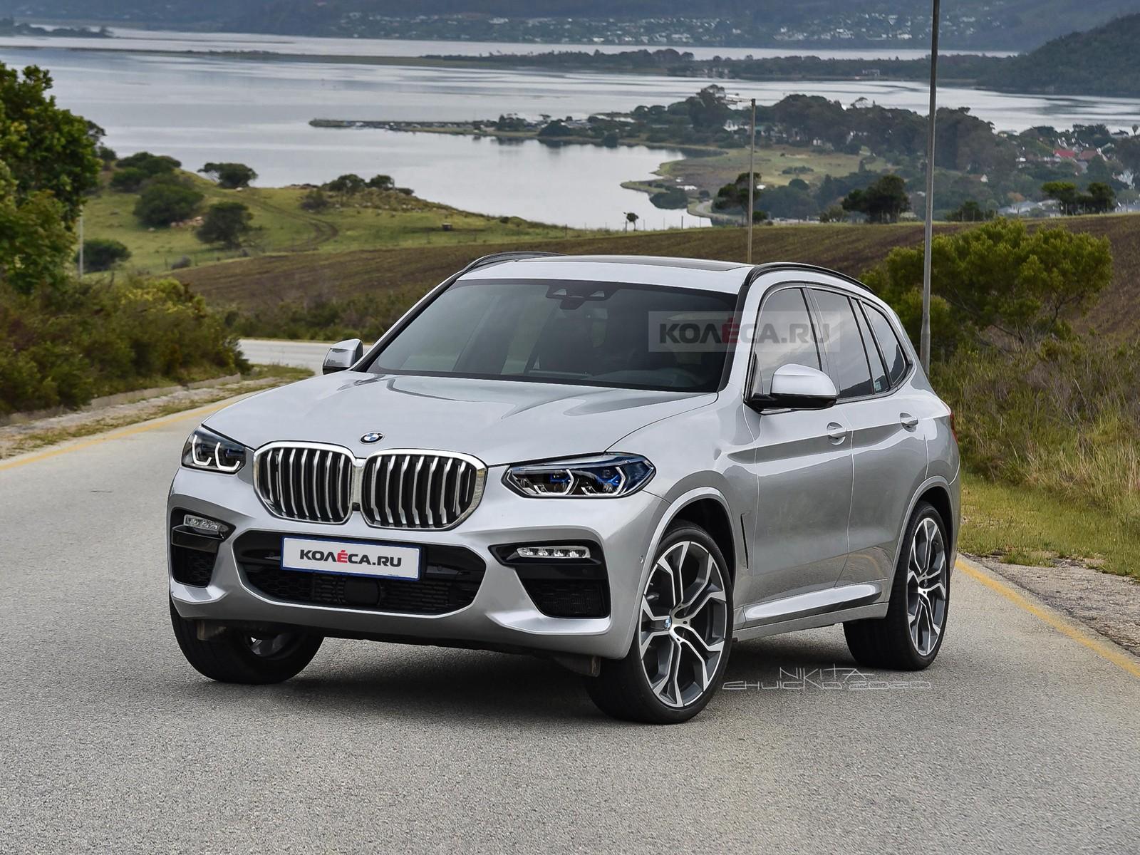 Обновлённый BMW X3: первые изображения