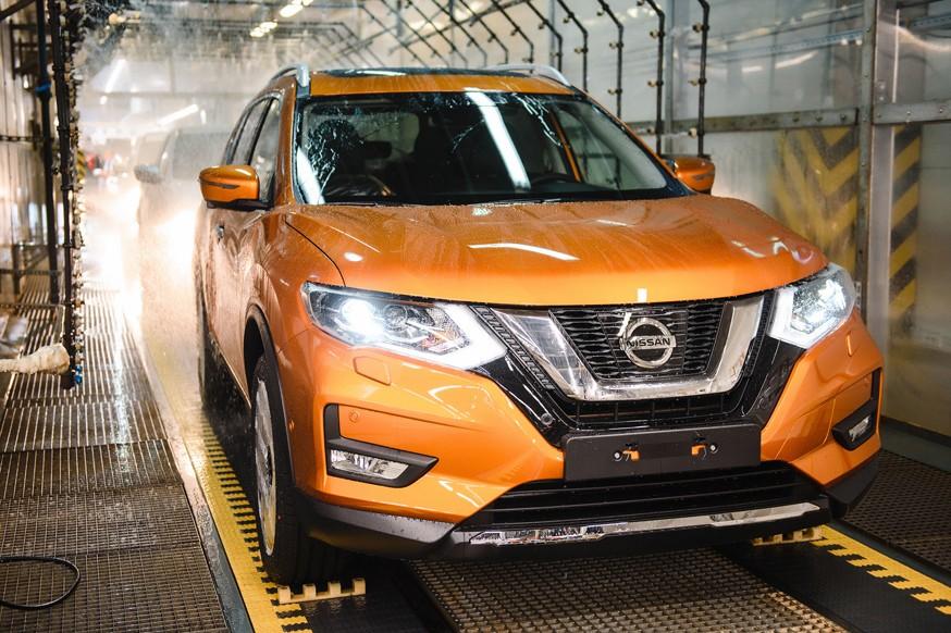 Новый Nissan X-Trail встал на конвейер завода Nissan в Санкт-Петербурге (4)-source