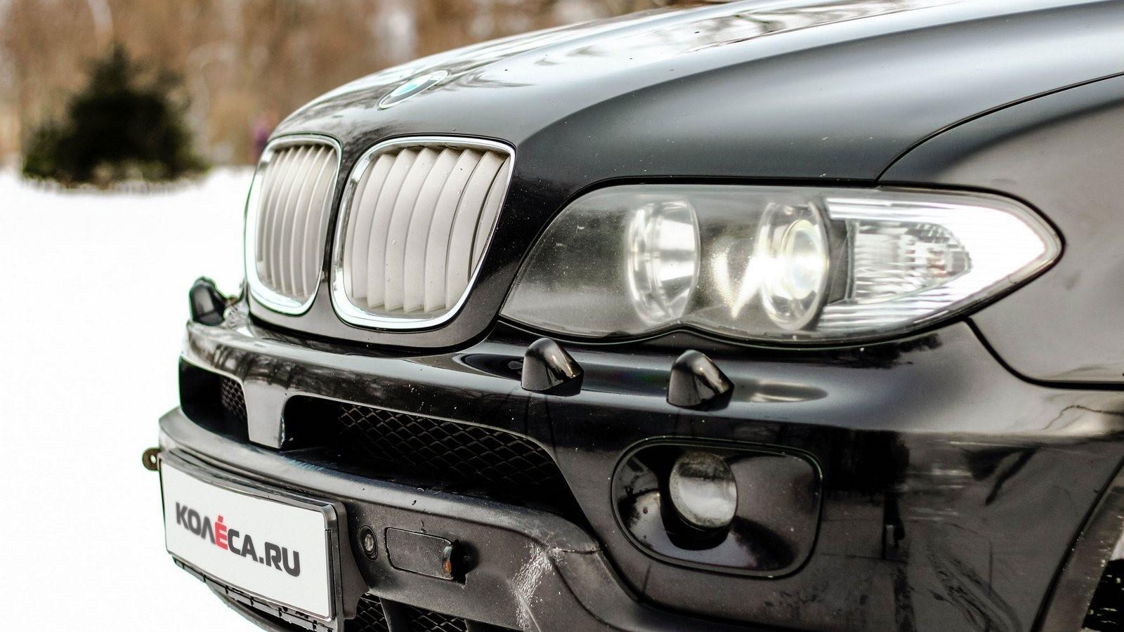 BMW X5 E53 фара