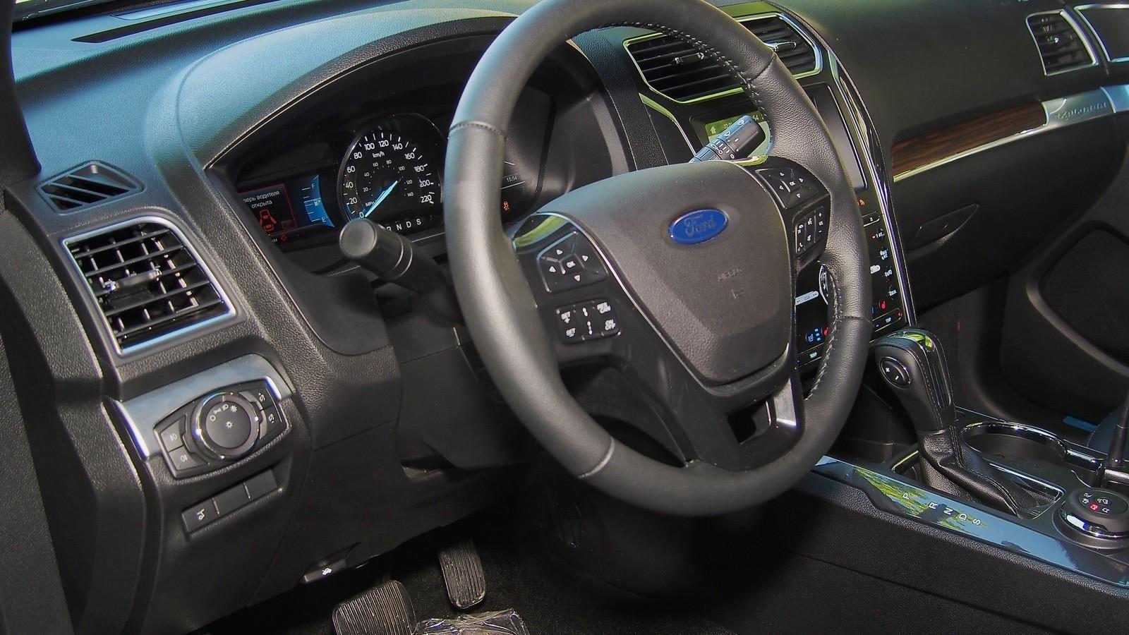 Ford Explorer руль