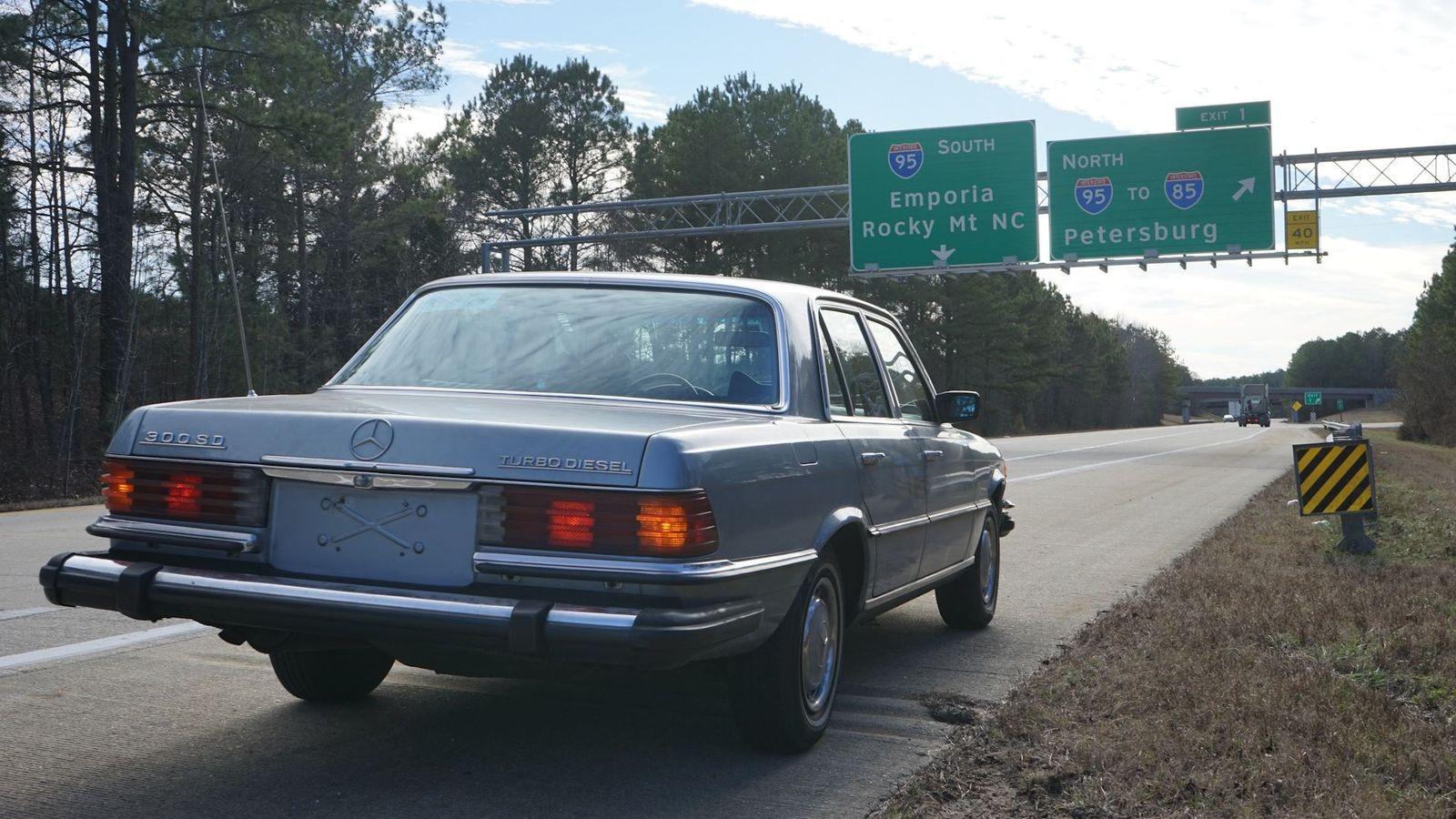 Я ухожу красиво: опыт владения Mercedes-Benz W116 из США за 2500 долларов