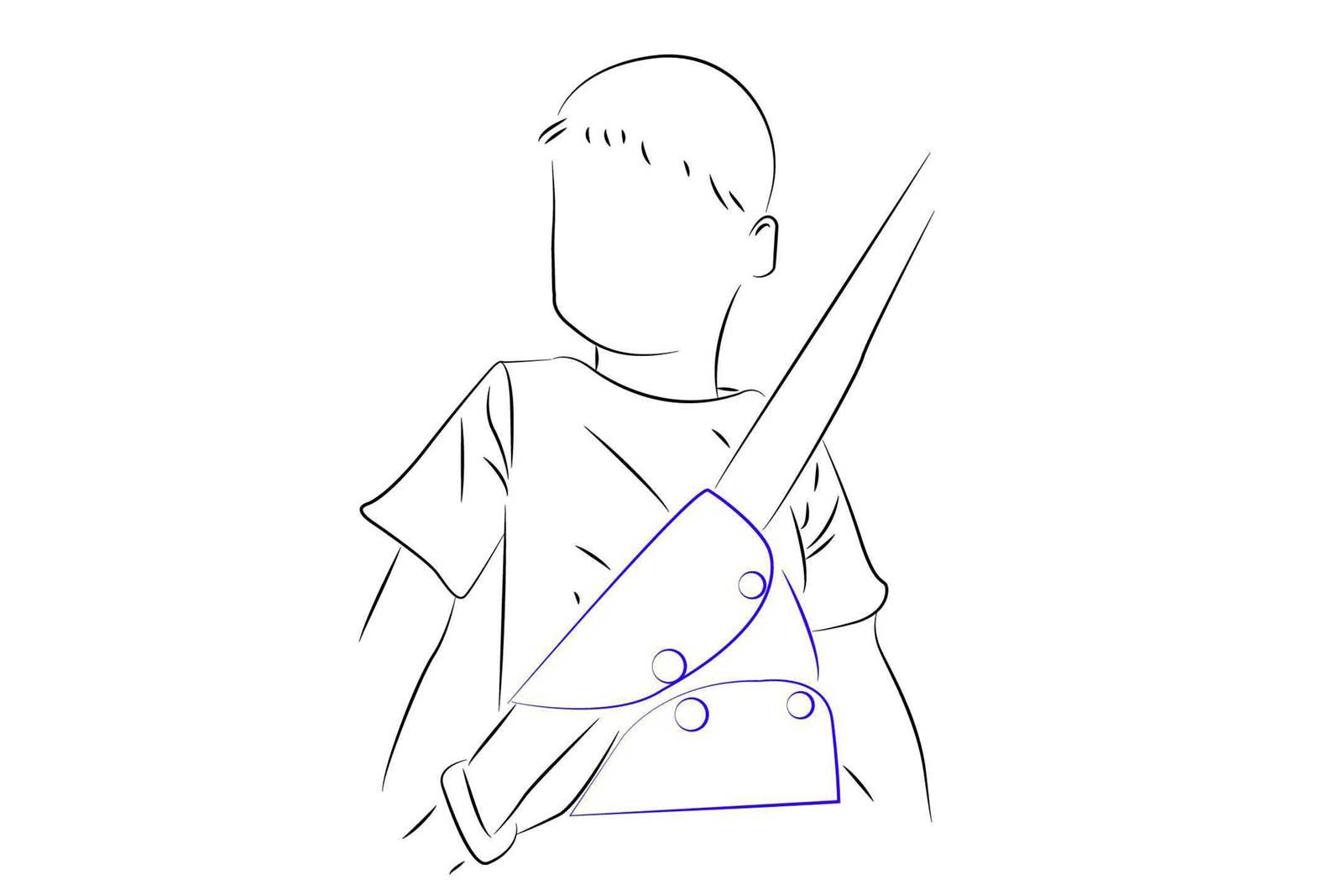 Корректор ремня безопасности для детей с какого возраста