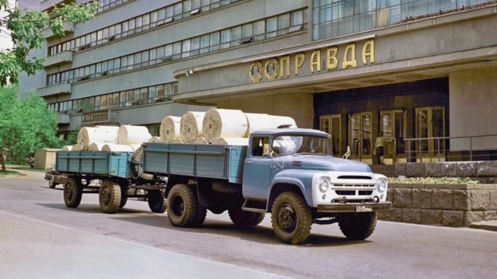 zil 130 1966 74 - Тормозная система барабанного типа