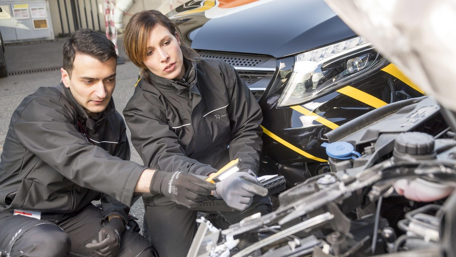 Mercedes-Benz Vans: Eigene Unfallforschung macht Transporter noch sicherer