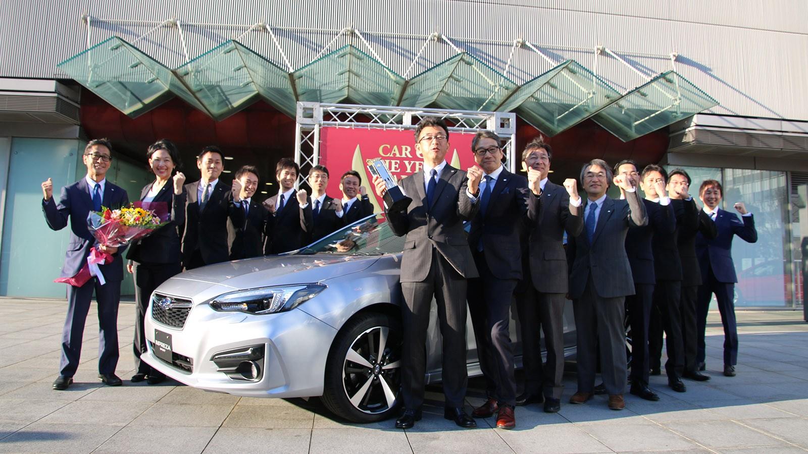 Новая Subaru Impreza стала автомобилем года в Японии (124855)