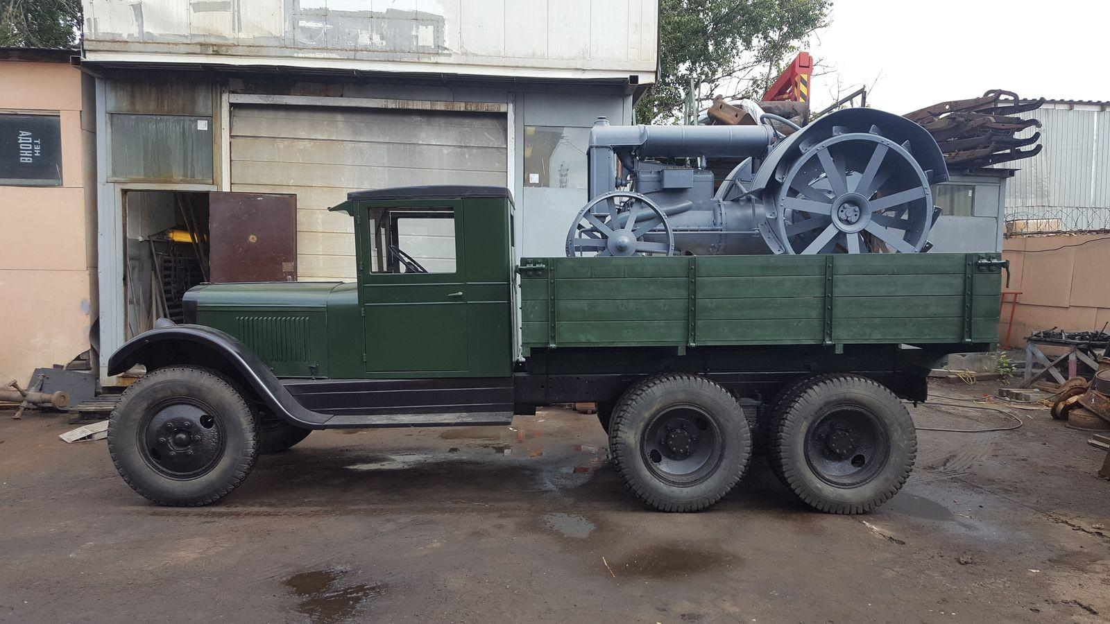 Генри, Федя, целина:  почти тест-драйв трактора «Фордзон-Путиловец»