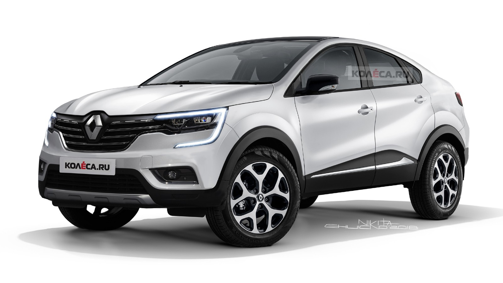 Renault Kaptur Cross front2