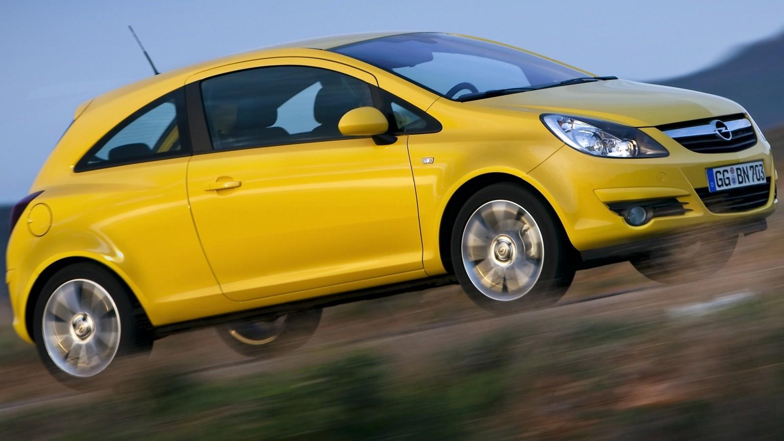 На фото: Opel Corsa 3-door (D) '2009–10