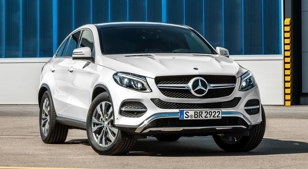 На фото: Mercedes-Benz GLE Coupe