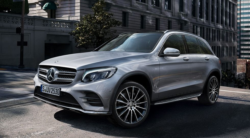 На фото: Mercedes-Benz GLC