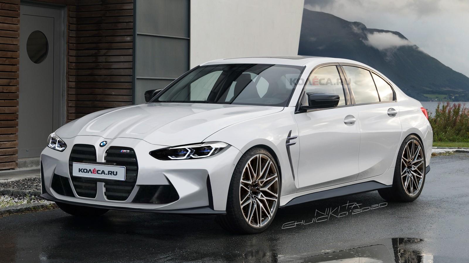 BMW M3 следующего поколения (G80): новые изображения