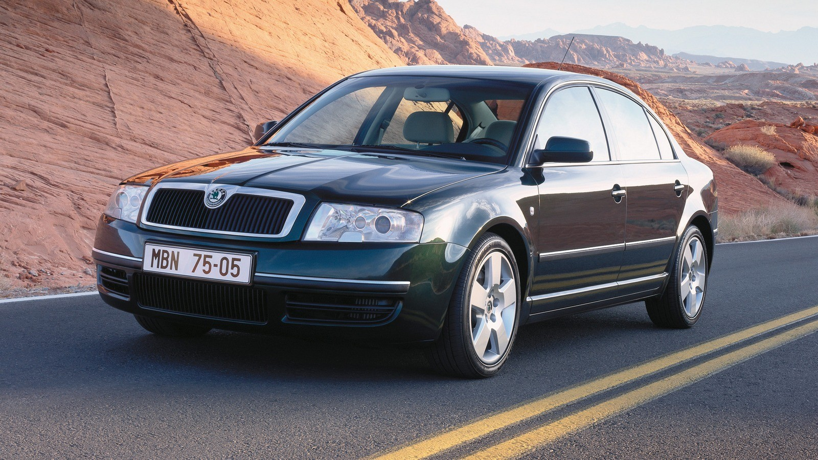 На фото: Škoda Superb '2001–06