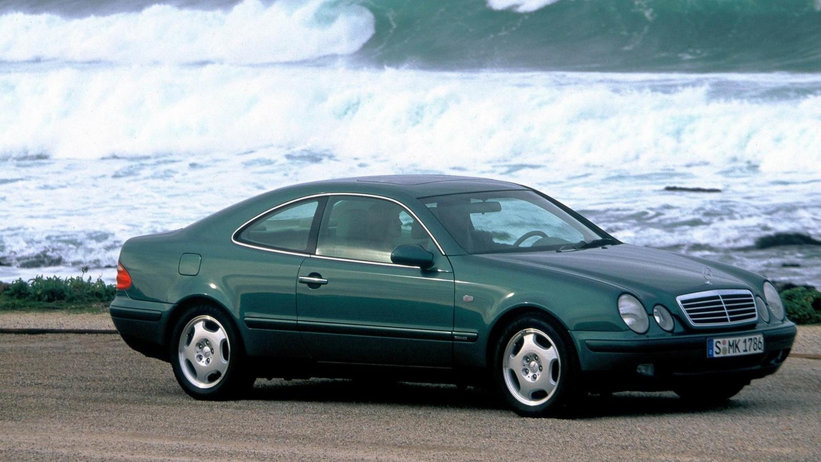 На фото: Mercedes-Benz CLK-Klasse (208) '1997–2002