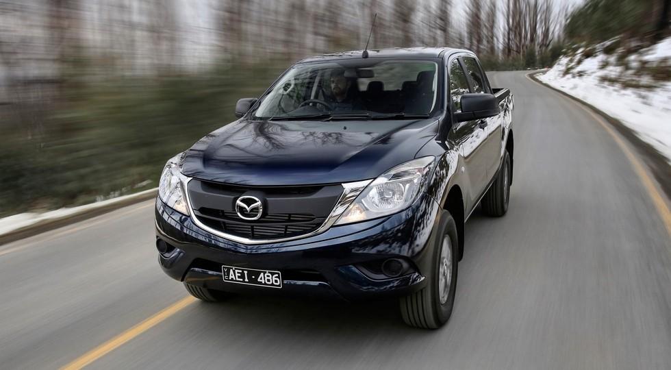 На фото: Mazda BT-50 для Австралии