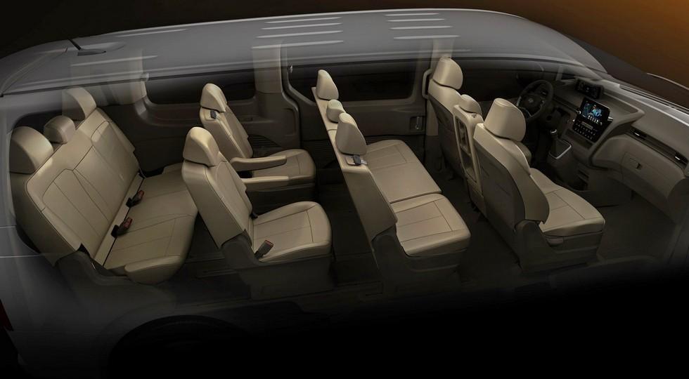 Семейство Hyundai Staria: новые подробности и фото «простого» минивэна