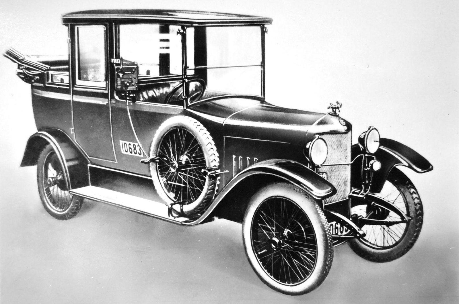 Древнейшая профессия: как появились первые такси, и как рассчитывали цену поездки в 1890-х