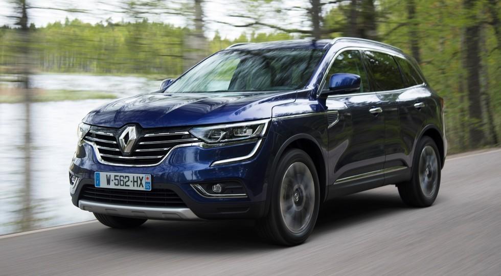 На фото: Renault Koleos нового поколения