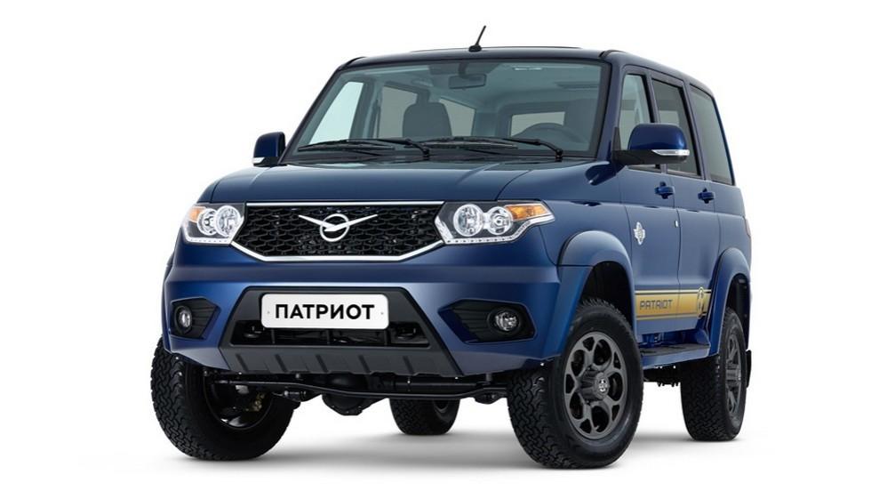 УАЗ Патриот Футбольная версия