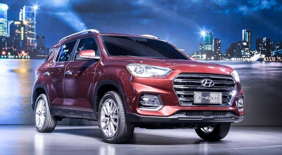 На фото: прототип Hyundai ix35 нового поколения