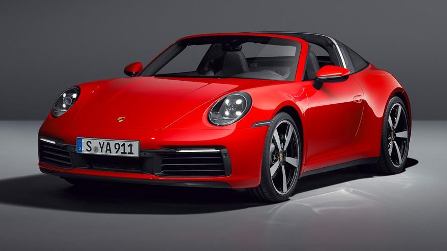 Новый Porsche 911 Targa: крыша прячется под прозрачный «колпак» на секунду быстрее