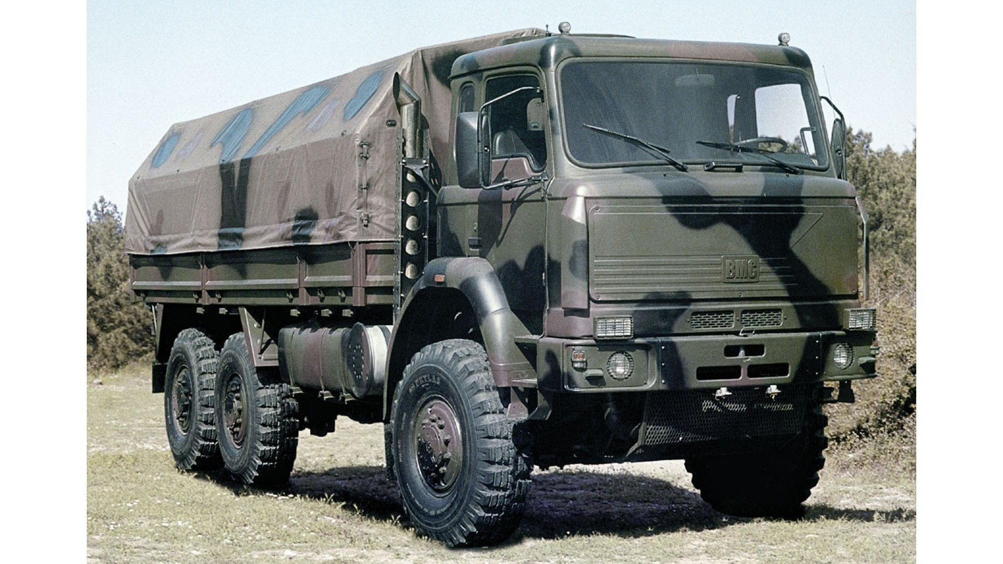 Тяжелый 10-тонный автомобиль BMC 380-26 с 380-сильным дизелем