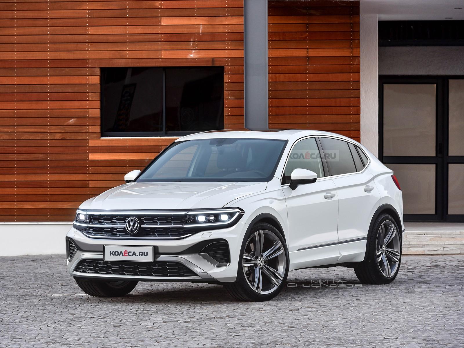 Новый Volkswagen Tiguan: первые изображения