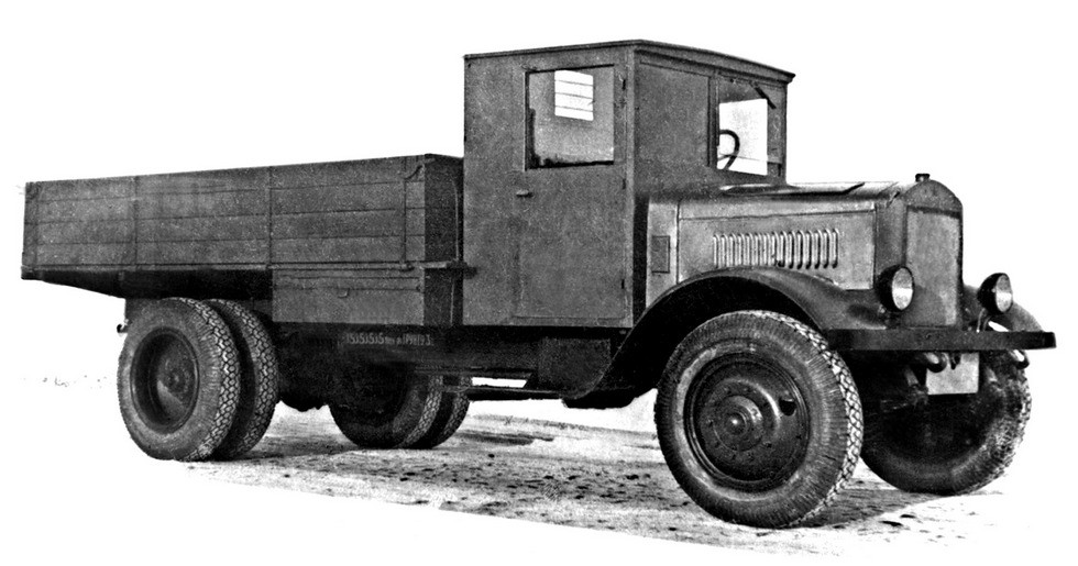 Грузовик ЯГ-6