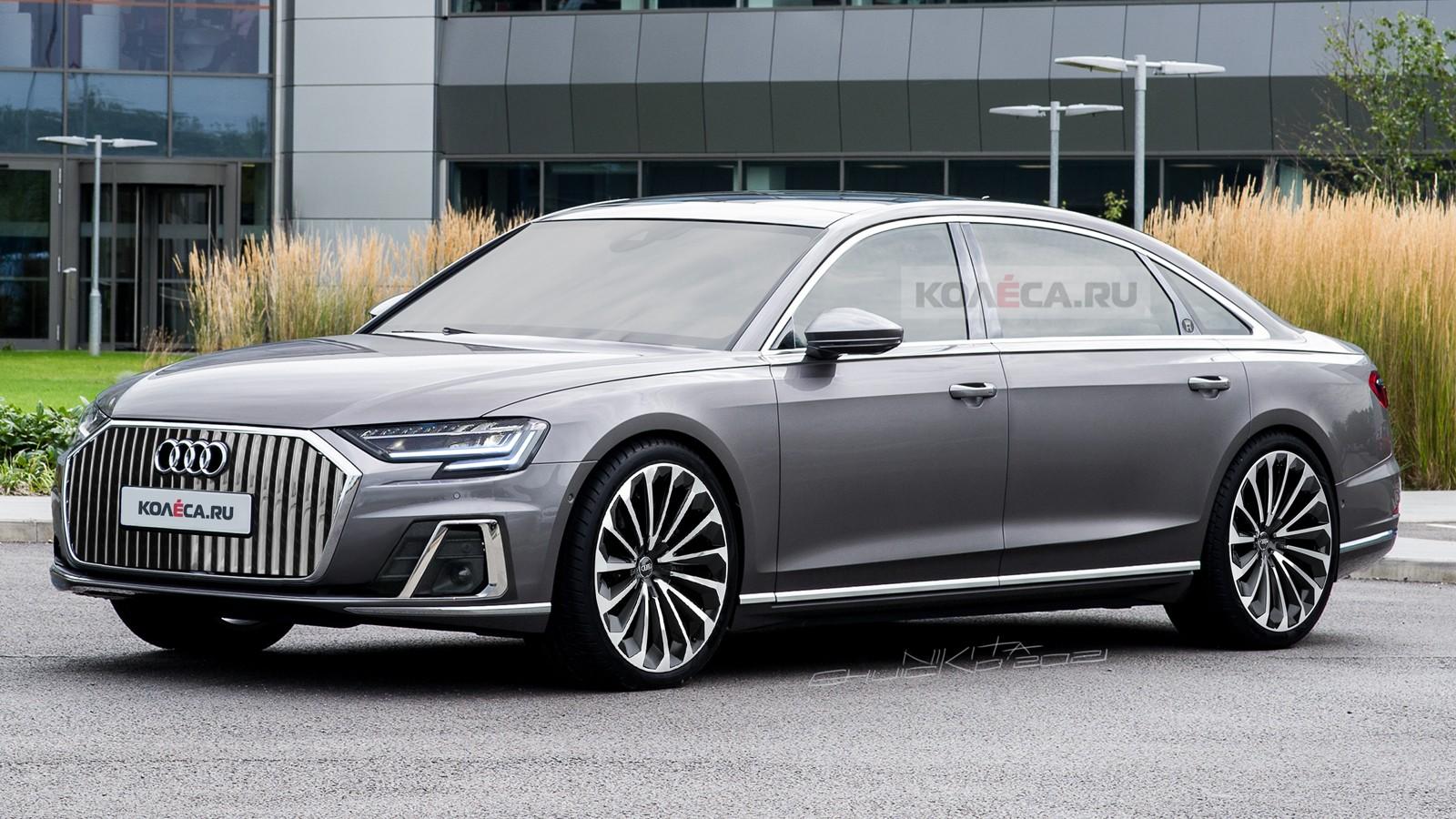 Новый Audi A8 Horch: первые изображения