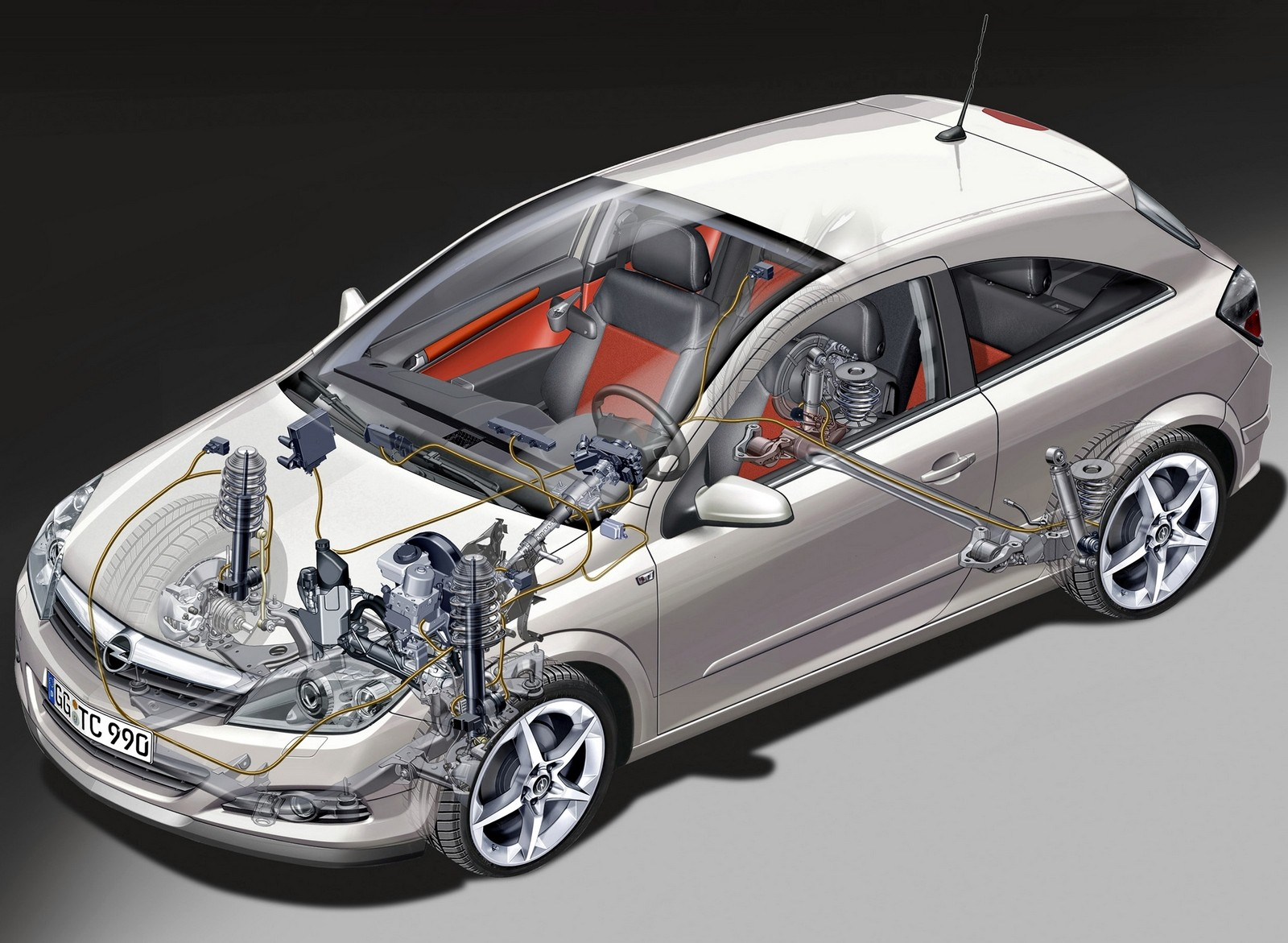 На фото: Opel Astra GTC Panoramic (H) '2005–11