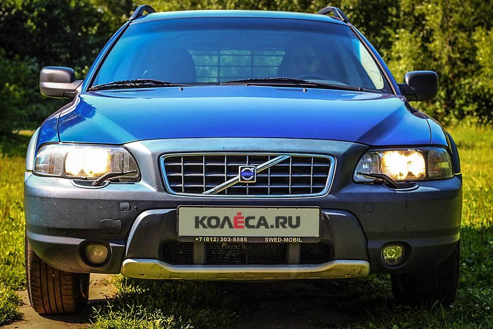 Volvo V70 XC спереди
