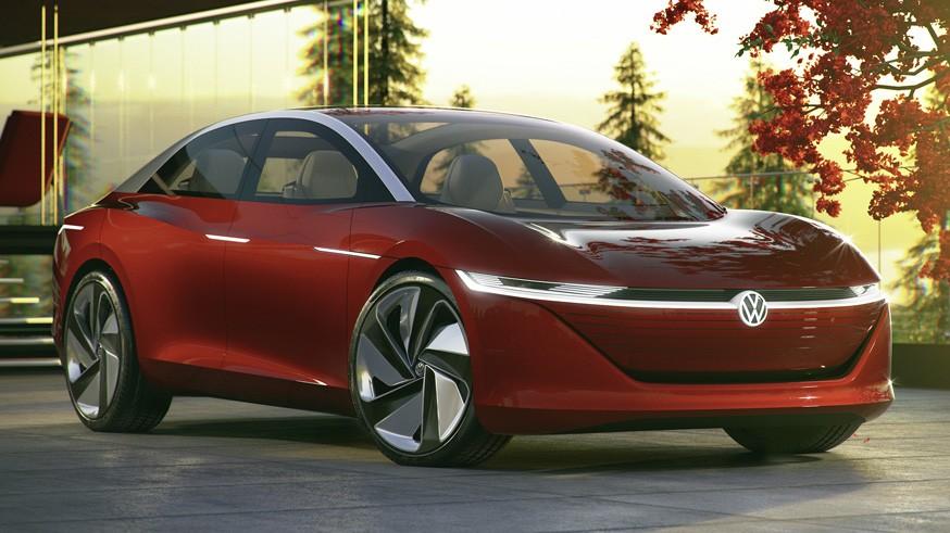 Cupra может предложить седан, созданный по мотивам концепта Volkswagen ID. Vizzion