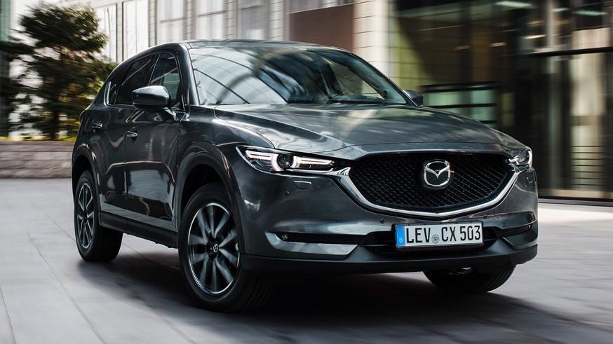 Mazda готовит кроссовер CX-5 нового поколения: первое изображение