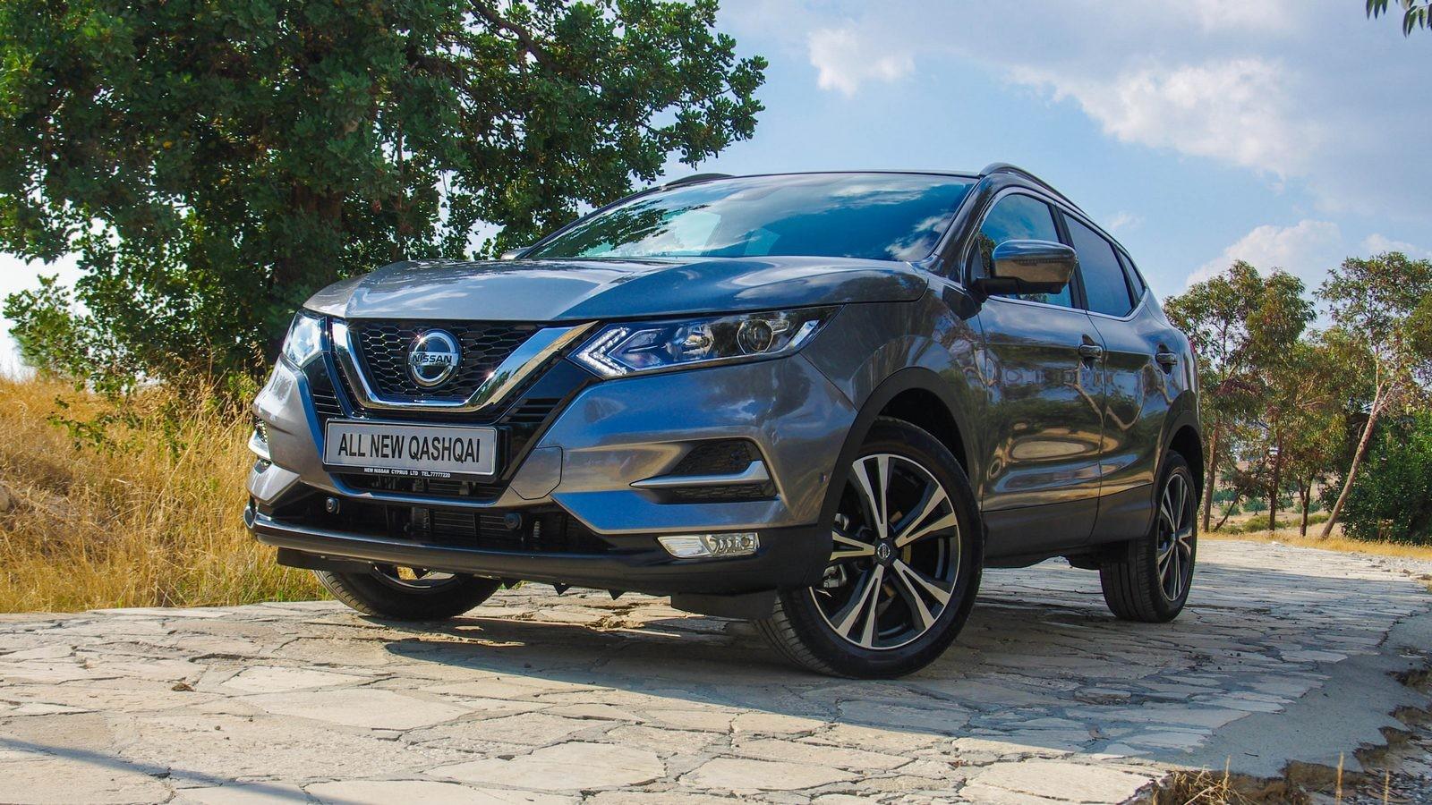 Nissan Qashqai три четверти (2)