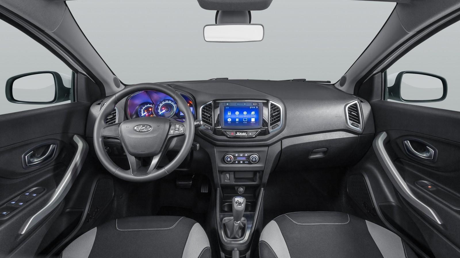 Lada XRAY (GAB) '12.2015–н.в. салон