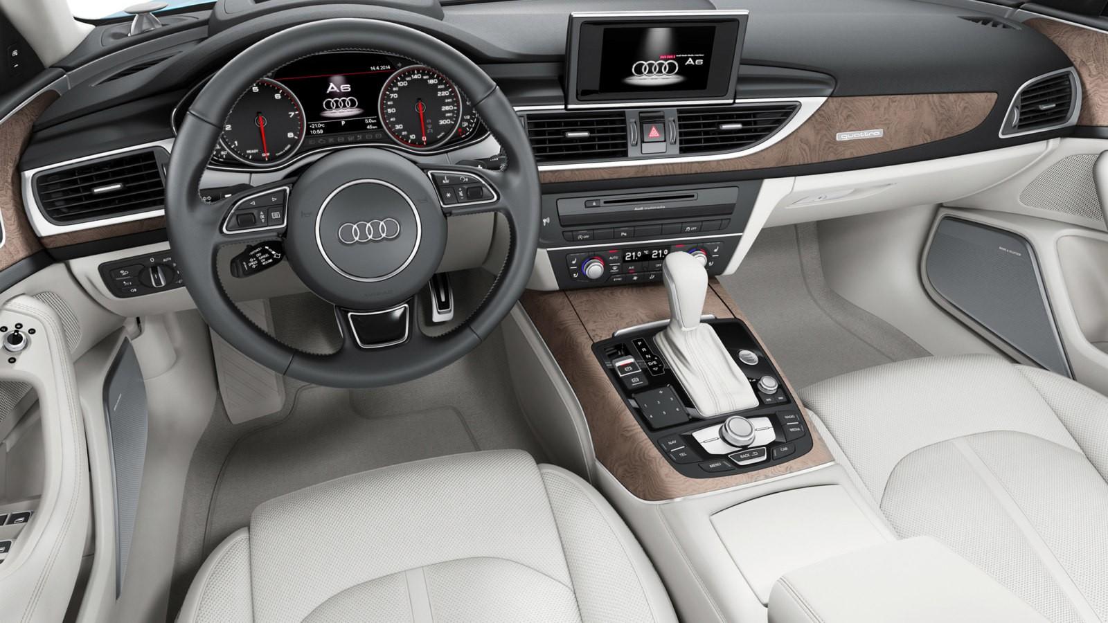 Audi A6 текущего поколения