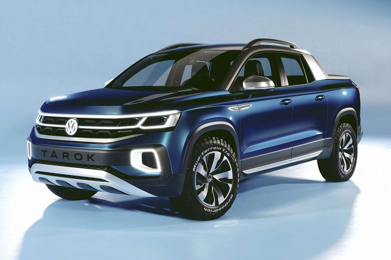 Volkswagen Tarok может легко превратиться в новый пикап Ford.