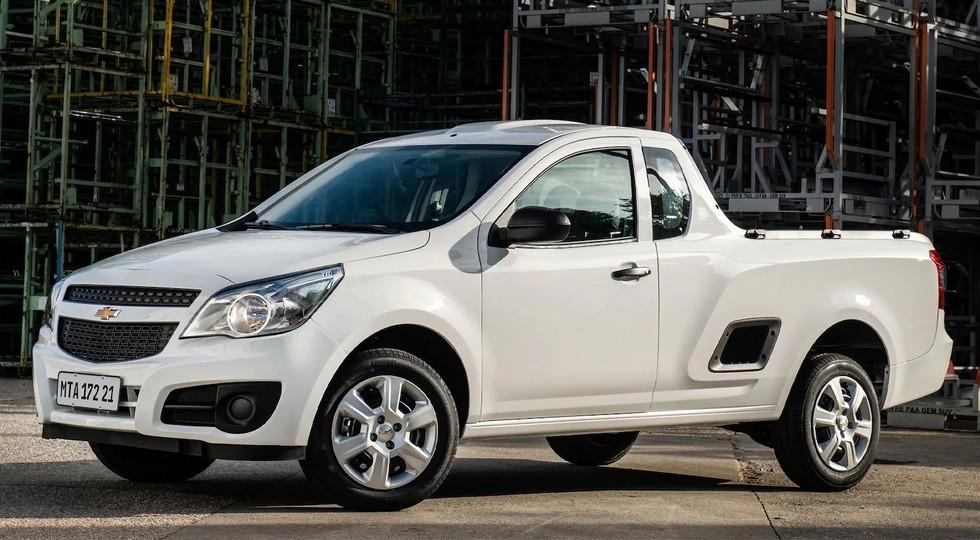 Пикап Chevrolet Montana сменит имидж в новом поколении и обретет четырёхдверную кабину