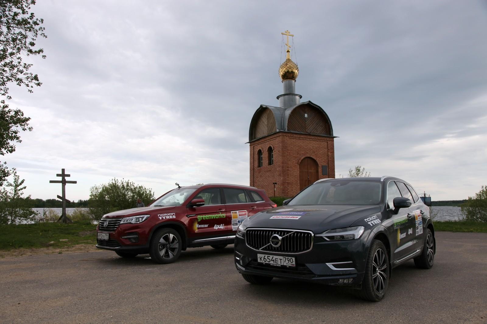 В конце мая в рамках премии «Внедорожник года» состоялся автопробег к Рыбинскому водохранилищу