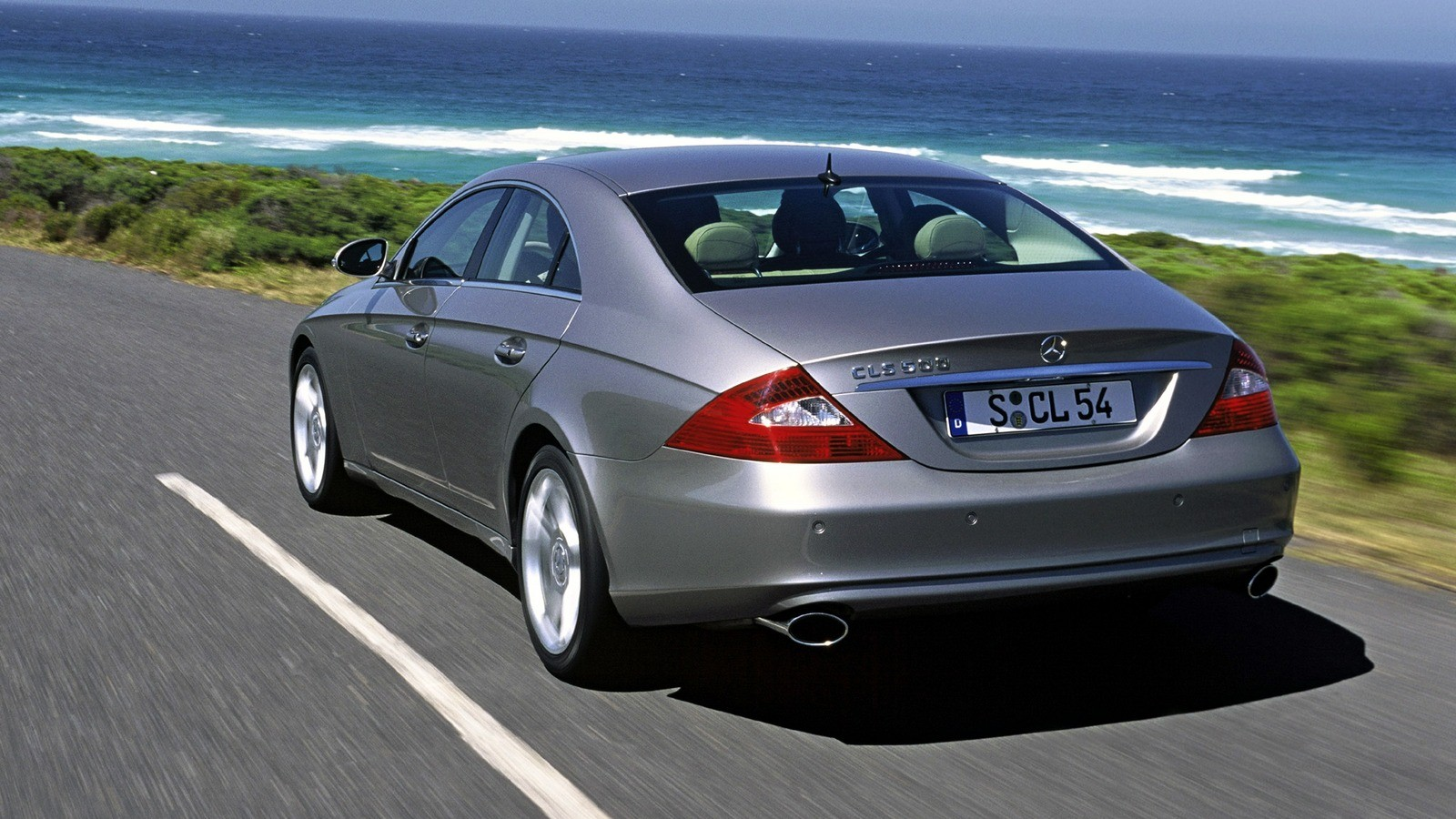 Mercedes-Benz CLS 500 Worldwide (С219) '2004–07.2010
