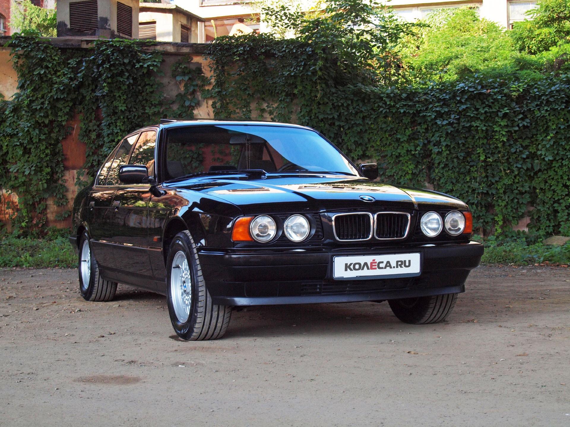 Тест-драйв: BMW 5-Series   Опыт владения BMW 520i E34