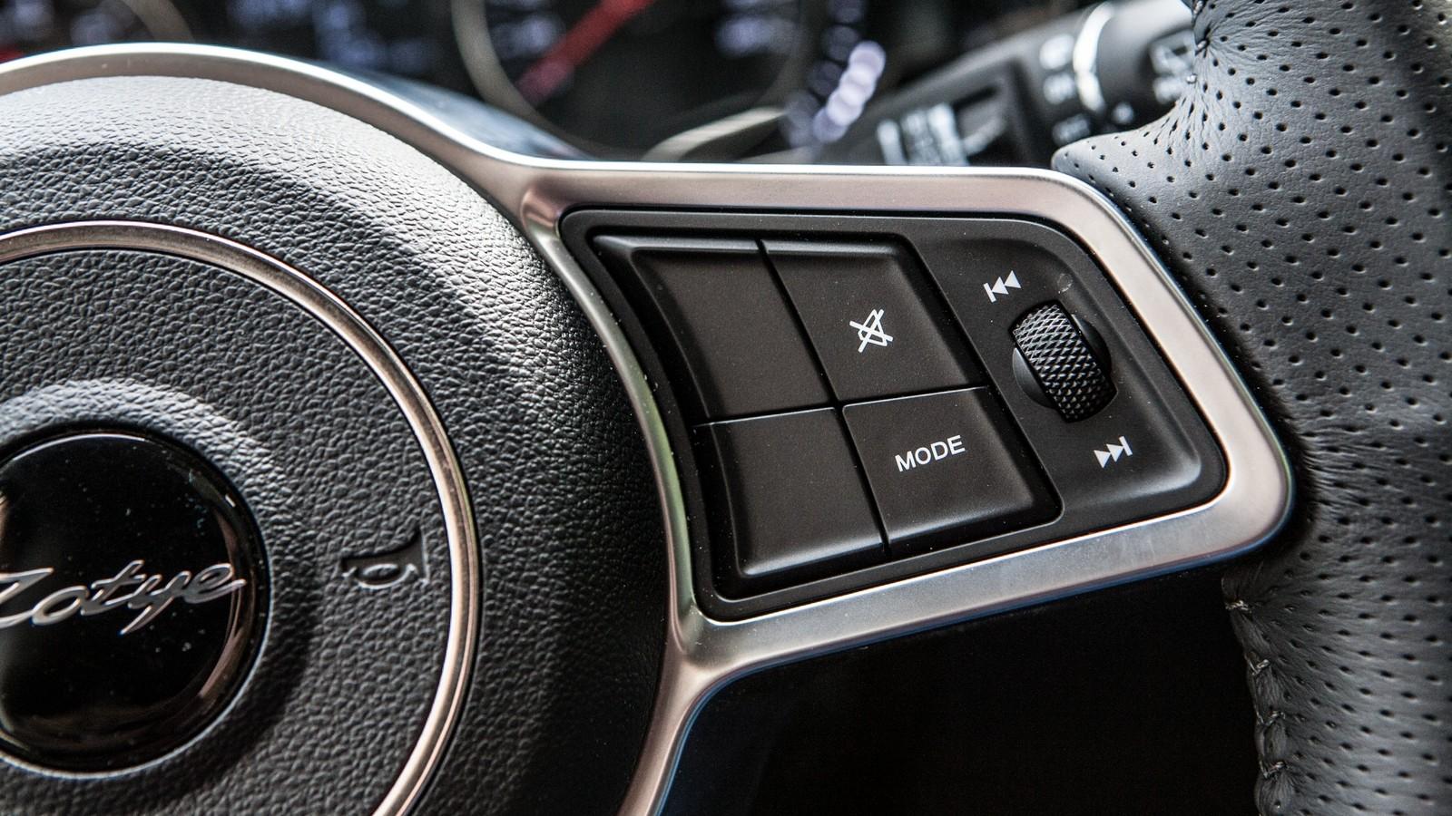 Zotye Coupa кнопки на руле